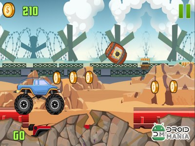 Скриншот Monster Truck Mayhem №4