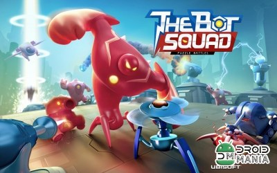 Скриншот The Bot Squad: Puzzle Battles №1