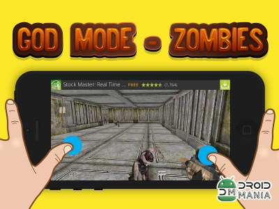 Скриншот Shooter God Mode - Zombies №1