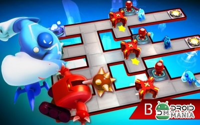 Скриншот The Bot Squad: Puzzle Battles №2