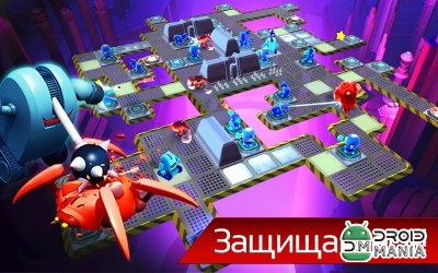 Скриншот The Bot Squad: Puzzle Battles №3