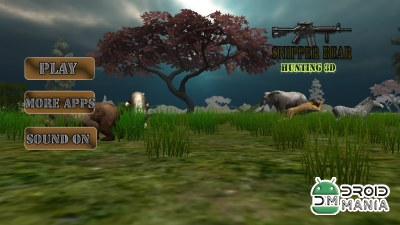 Скриншот Snipper Bear Hunting 3D №1