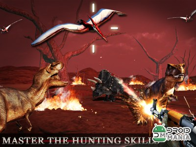Скриншот Dinosaur Hunt - Deadly Assault №1