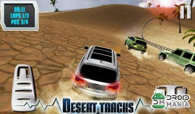 Скриншот SUV Desert Road Racing 3D Full №1