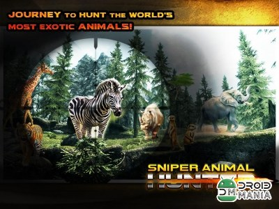 Скриншот Jungle Animal Sniper Hunter №4