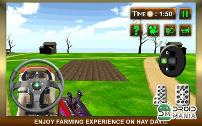 Скриншот Real Farm Tractor Simulator 3D №2