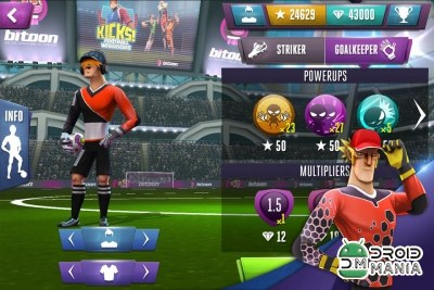 Скриншот Kicks! Football Warriors - Soccer №1