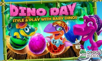 Скриншот Dino Day! Baby Dinosaurs Game №1