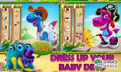 Скриншот Dino Day! Baby Dinosaurs Game №2