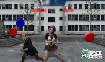 Скриншот Schoolgirl Fighting Game 3 №2