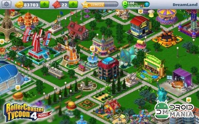 Скриншот RollerCoaster Tycoon 4 Mobile №3