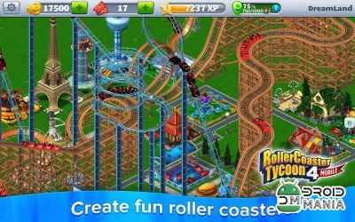 Скриншот RollerCoaster Tycoon 4 Mobile №4