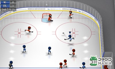 Скриншот Stickman Ice Hockey №1