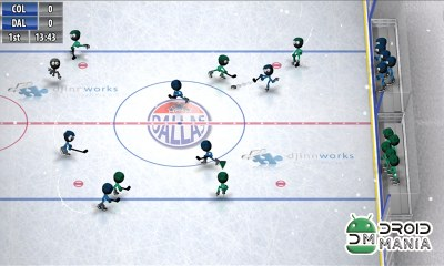 Скриншот Stickman Ice Hockey №2