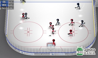 Скриншот Stickman Ice Hockey №4