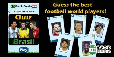 Скриншот Футболисты Викторина 2014 / Soccer Players Quiz 2014 №1