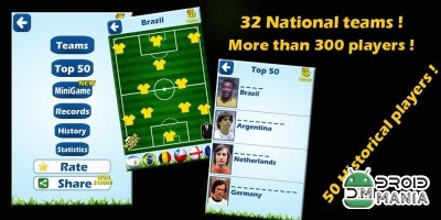 Скриншот Футболисты Викторина 2014 / Soccer Players Quiz 2014 №2