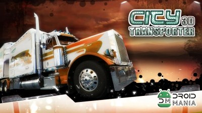 Скриншот City Transporter 3D Truck Sim №1