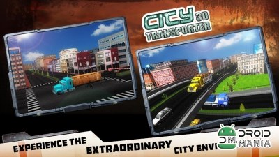 Скриншот City Transporter 3D Truck Sim №2