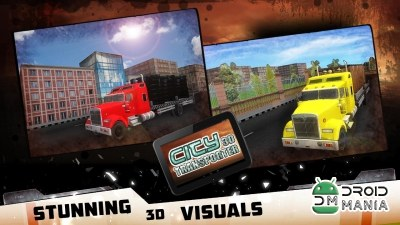 Скриншот City Transporter 3D Truck Sim №3