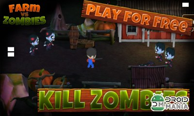 Скриншот Farm vs Zombies: 3D Shooter №1