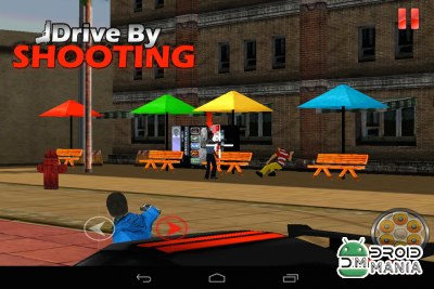 Скриншот Drive By Shooting (3D Game) №4