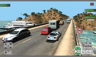 Скриншот Real Traffic Racing 3D №1