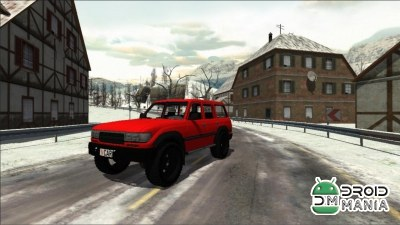 Скриншот Snow Car Racing №2