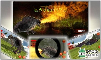 Скриншот Monster Sniper Hunt 3D №1