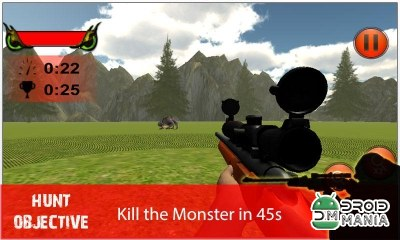 Скриншот Monster Sniper Hunt 3D №3