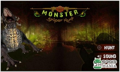 Скриншот Monster Sniper Hunt 3D №4