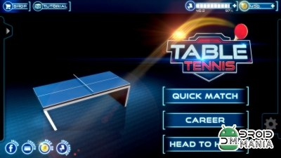 Скриншот Table Tennis 3D Live Ping Pong №1