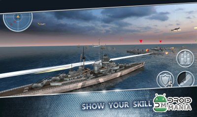 Скриншот Sea Battle: Warships 3D №2