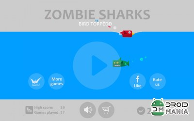 Скриншот Shark Zombies vs Bird Torpedo №1