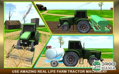 Скриншот Real Farm Tractor Simulator 3D №3