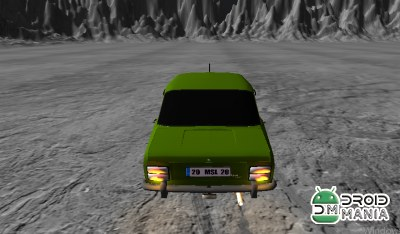 Скриншот Space Old Car Drift Game №2