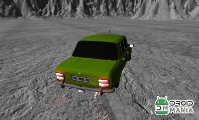Скриншот Space Old Car Drift Game №4