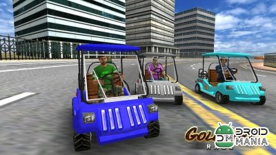 Скриншот Golf Cart Race №3