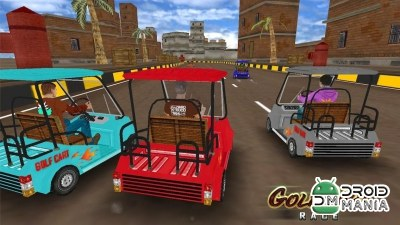 Скриншот Golf Cart Race №4