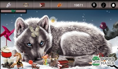 Скриншот Hidden Object - Wolves №1