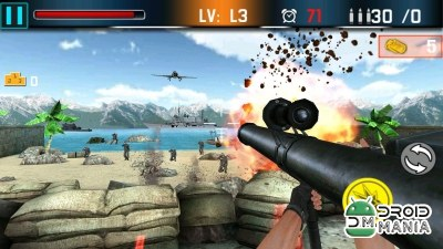 Скриншот Shoot war: Gun fire defense №1