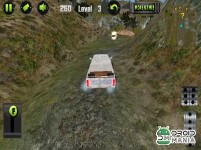 Скриншот Mountain Hill Climb 3D №3