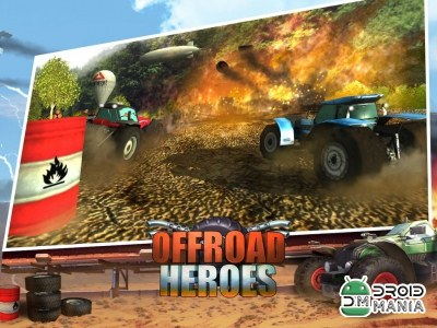 Скриншот Offroad Heroes - Action Racer №1