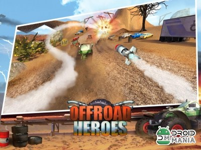 Скриншот Offroad Heroes - Action Racer №2
