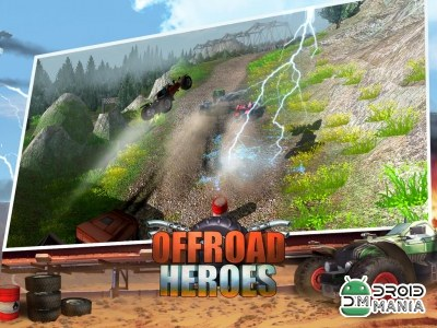 Скриншот Offroad Heroes - Action Racer №3