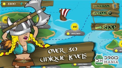 Скриншот Platform games warrior viking №4