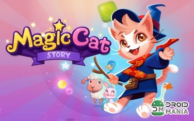 Скриншот Magic Cat Story №1