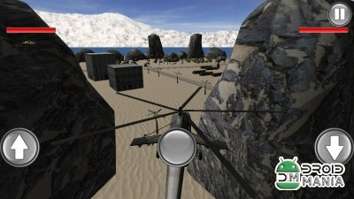 Скриншот Helicopter Base Attack 3D №1