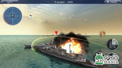 Скриншот Sea Battle: Warships 3D №4