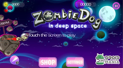Скриншот Zombie Dog: Deep Space Runner №2